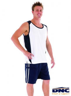DNC Adult Cool-Breathe Contrast Singlet