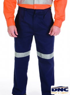 3314 DNC Cotton Drill 3M Tape Trousers