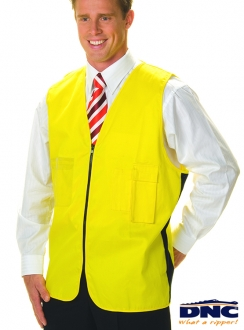 3808 DNC Daytime Cotton Safety Vest