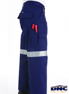 DNC Drill 3M Tape Cargo Trousers