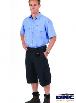 3331 DNC Hero Air Flow Cotton Duck Weave Cargo Shorts