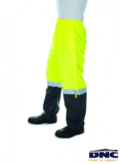 DNC HiVis Light Weight Rain Pant with 3M Tape
