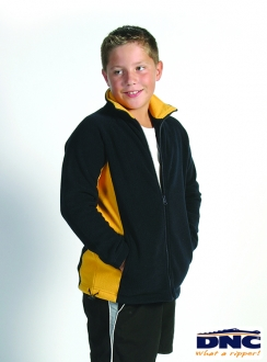 DNC Kids Side Panel Full Zip Polar Fleece