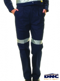 3328 Ladies Drill 3M Tape Trousers