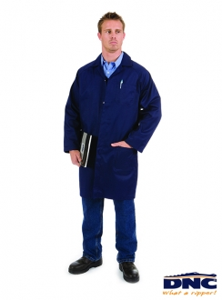 DNC Polyester Cotton Dust Coat (Lab Coat)