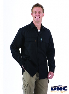 3224 DNC Three Way Cool Breeze L/S Shirt
