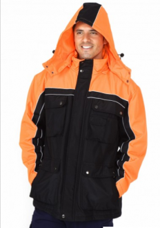 J007HZ Nylon Coated Jacket Mens