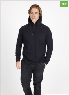 F392HP Fusion Hooded T-Shirt Mens
