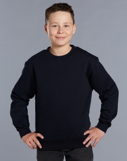 FL01K Kids American Style Crew Fleecy Sweat