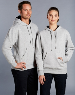 FL09 Unisex Close Front Fleecy Hoodie