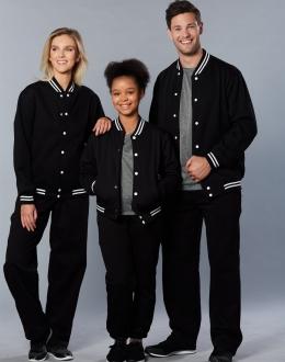 FL11 Unisex Fleece Varsity Jacket