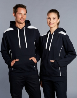 FL19 Unisex Close Front Contrast Hoodie