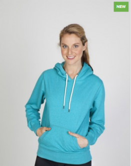 FP65UN Heather Brushed Fleece Ladies/Juniors
