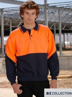 Fluoro Fleece Top