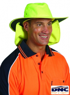DNC HiVis Hat with Flap