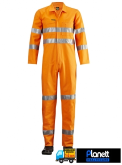Hi-Vis Coveralls With 3M Reflective Tape