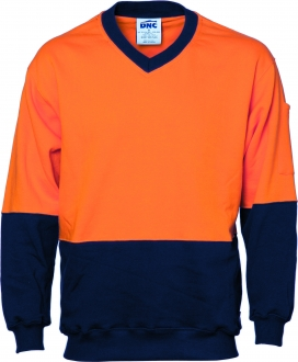 HiVis Cotton Fleecy Sweat Jumper