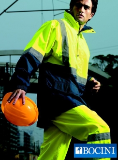 HiVis Polar Fleece LINED Jacket