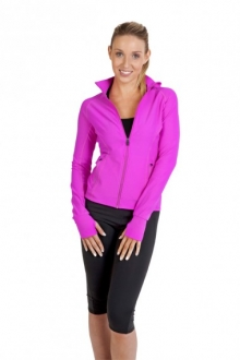 J480LD Ladies Nylon/Spandex Jacket