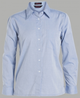 JB's Ladies L/S Fine Chambray Shirt