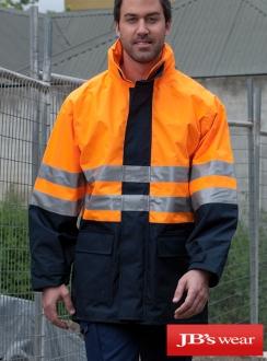 JBs HiVis (D+N) Long Line Jacket