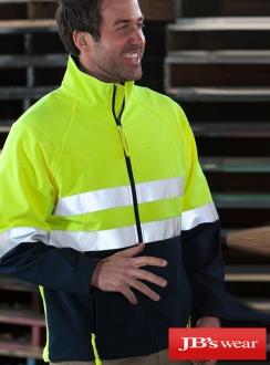 JBs HiVis (D+N) Layer Jacket