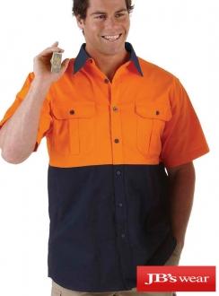 JBs Hi Vis S/S 150g Shirt
