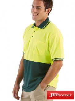 JBs Hi Vis Trad Polo