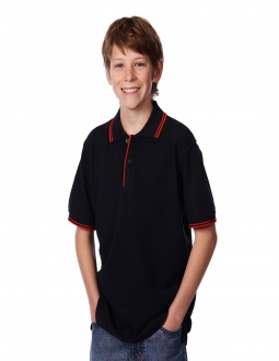 JBs Kids Contrast Polo