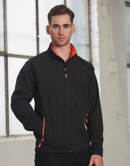 JK15 Mens Softshell Sports Jacket
