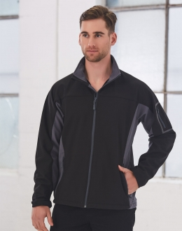 JK31 Contrast Softshell Jacket