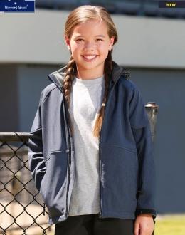 JK33K Kids Aspen Softshell Jacket