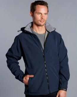 JK33 Mens Aspen Softshell Hooded Jacket