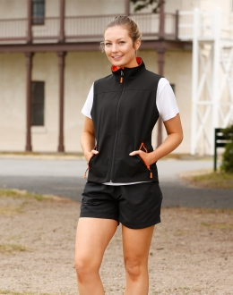 JK46 Ladies Softshell Sports Vest