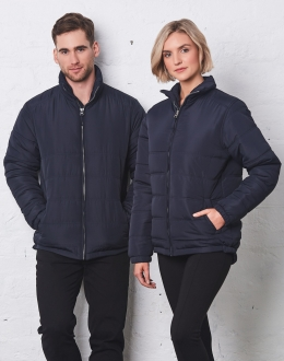 JK48 Unisex Heavy Quilted Jacket