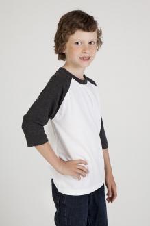 T143RG Kids 3/4 Raglan T-Shirt