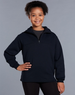Kids Half Zip Fleecy Jumper