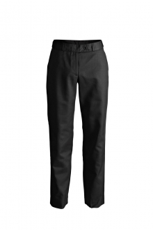 LADIES POLY/COTTON FLAT FRONT TROUSER