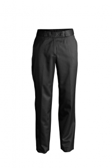 LADIES POLY/VISCOSE FLAT FRONT TROUSER