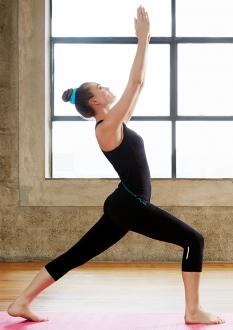 Ladies Flex Stretch 3/4 Leggings