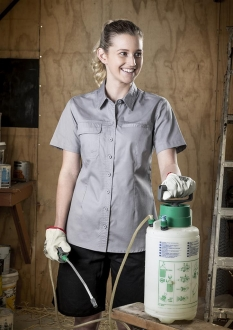 Ladies Light Weight Tradie Shirt
