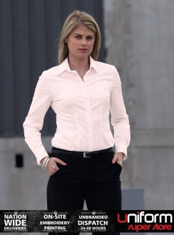Ladies Milano Long Sleeve Shirt