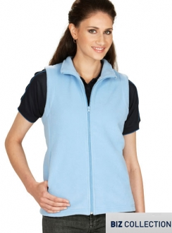 Ladies Poly Fleece Vest