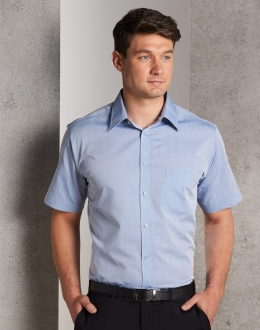 M7011 Mens Fine Chambray Shirt SS