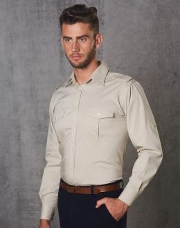 M7912 Mens L/S Military Shirt