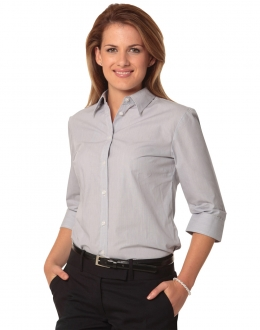 M8213 Womens Fine Stripe Shirt