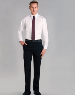 M9310 Mens Wool Blend Stretch flexi Waist Pants