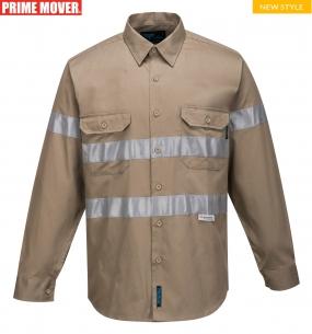 MA908 Geelong Shirt, Long Sleeve, Regular Weight