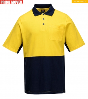 MD618 Short Sleeve Cotton Pique Polo