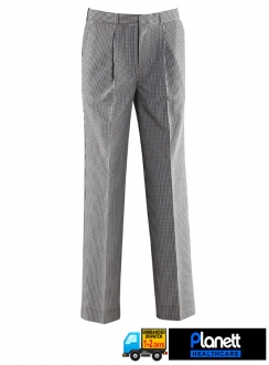 MENS CHEF TROUSER WITH PLEATS